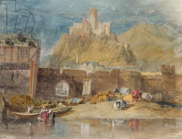 Furstenburg, 1817 (w/c on paper)