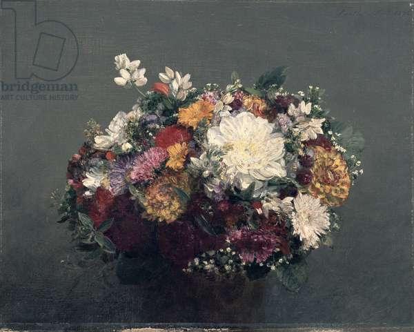 Flowers, 1872 (oil on caonvas)