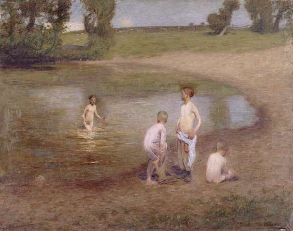 Noonday, 1895 (oil on canvas)