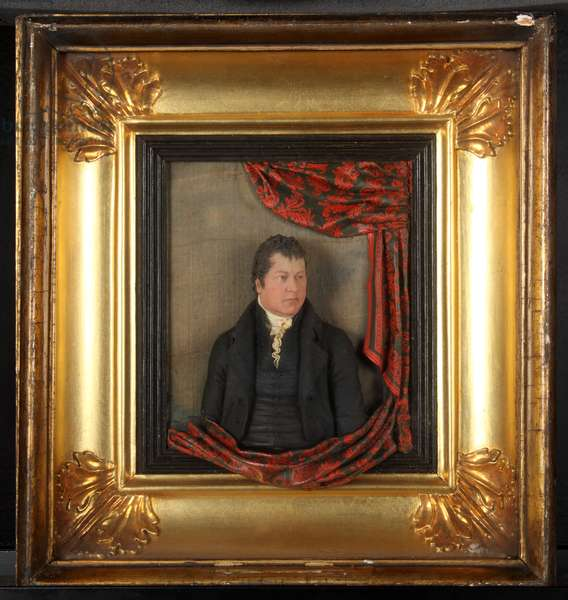 Portrait of William Cowdroy, c.1810 (wax)