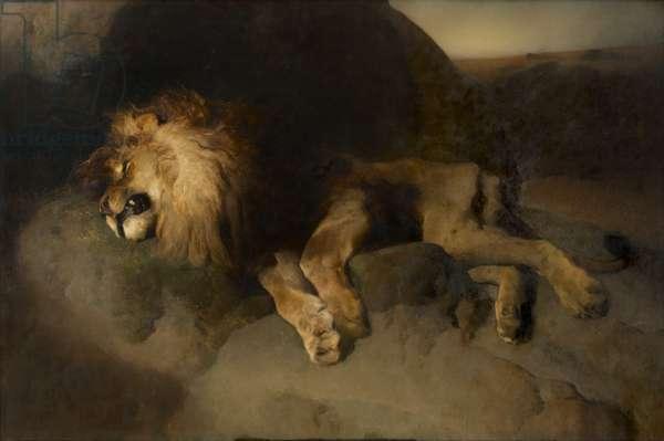 The Desert, 1849 (oil on canvas)