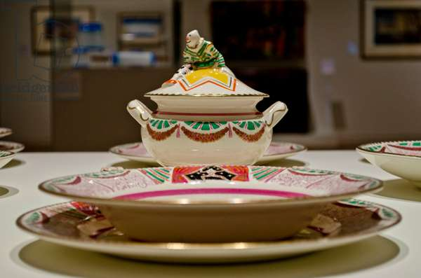 Circus Dinner Service, 1934-36 (glazed earthenware)