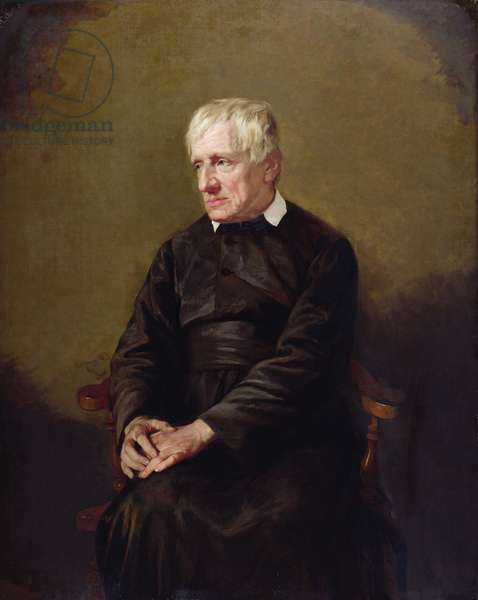 John Henry Newman, after 1874 (oil on canvas)