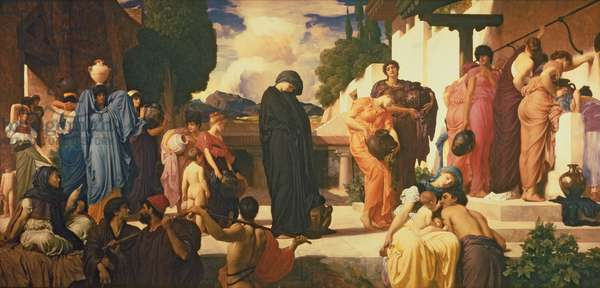 Captive Andromache, c.1888 (oil on canvas) (see 226710 & 250633)