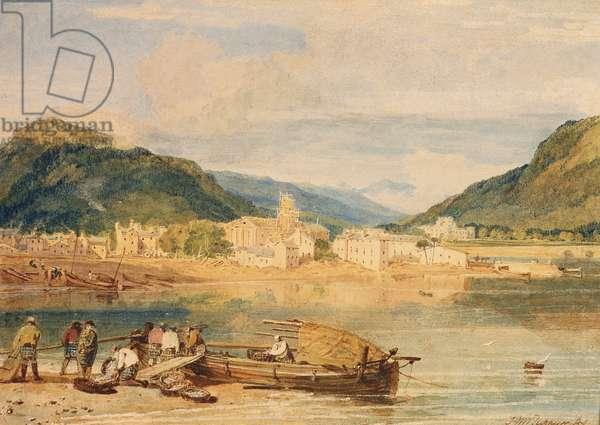 Inverary, Loch Fyne, Argyllshire, c.1802 (w/c on paper)