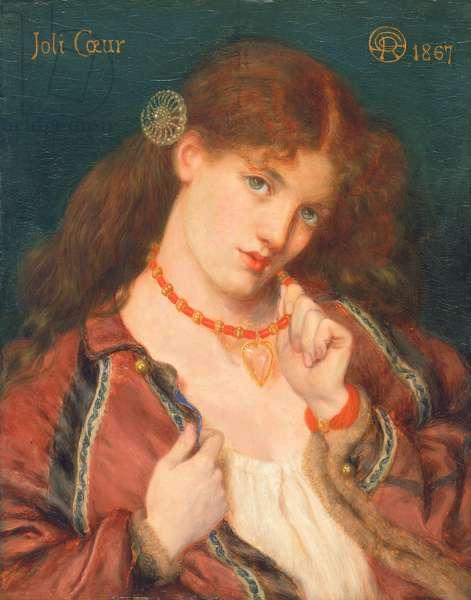 Joli Coeur, 1867 (oil on panel)