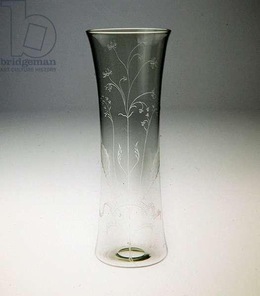 Vase, c.1893 (glass)