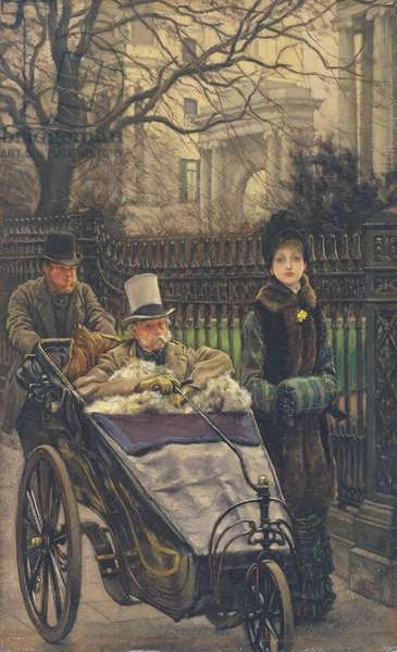 The Warrior's Daughter, or The Convalescent, c.1878 (oil on panel) (see also 27536)