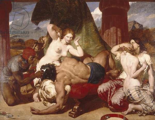 Samson Betrayed, 1850 (oil on canvas)
