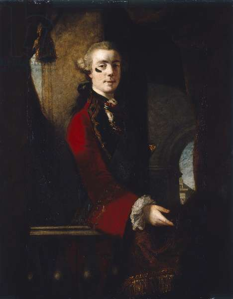Charles, 9th Lord Cathcart, c.1753-55 (oil on canvas)