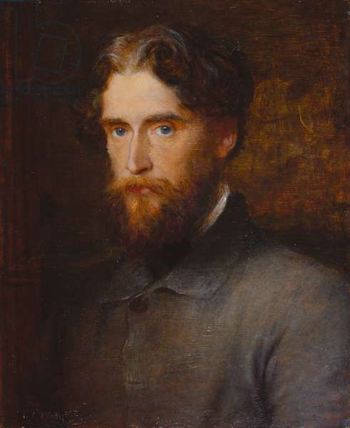 The Hon John Lothrop Motley, 1861 (oil on panel)