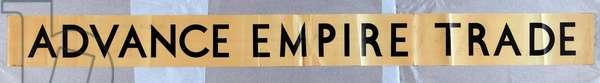 Advance Empire Trade, series title [6319404] (colour litho)