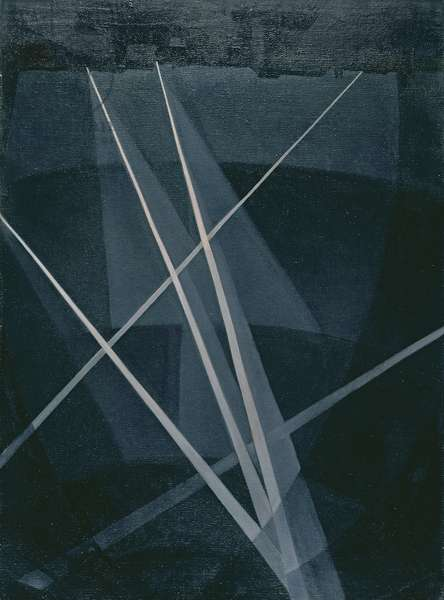 Searchlights, 1915-16 (oil on canvas)