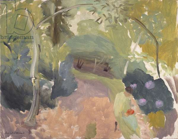 Spring Woodland, 1925-44 (oil on canvas)
