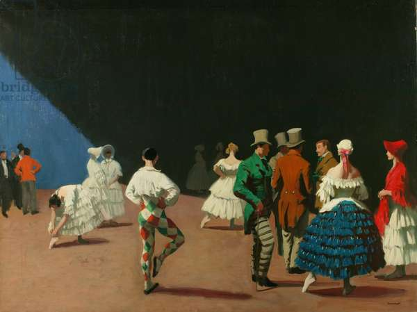 Carnaval, 1920 (oil on canvas)