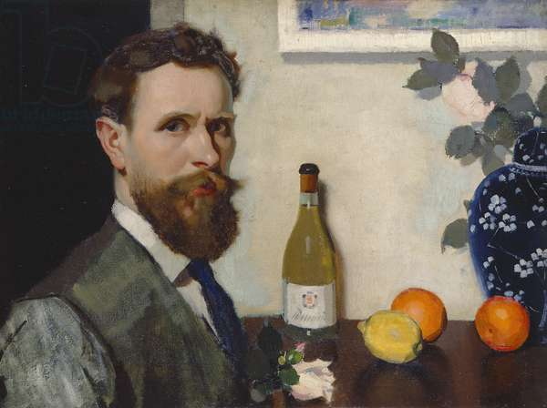 Self Portrait, c.1917 (oil on canvas)