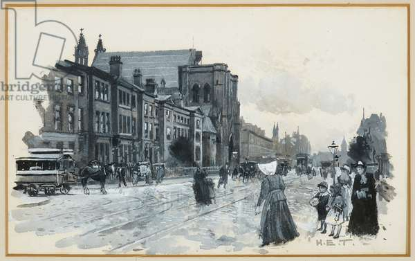 Church of the Holy Name, 1893-94 (w/c gouache on paper)
