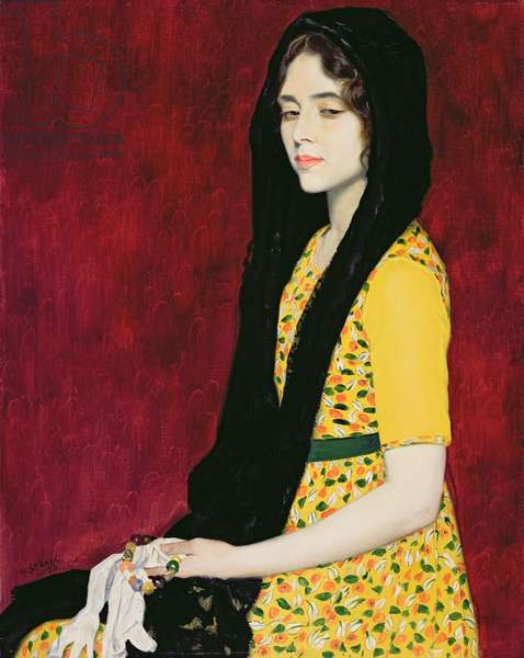 Panchita Zorolla, 1916 (oil on canvas)