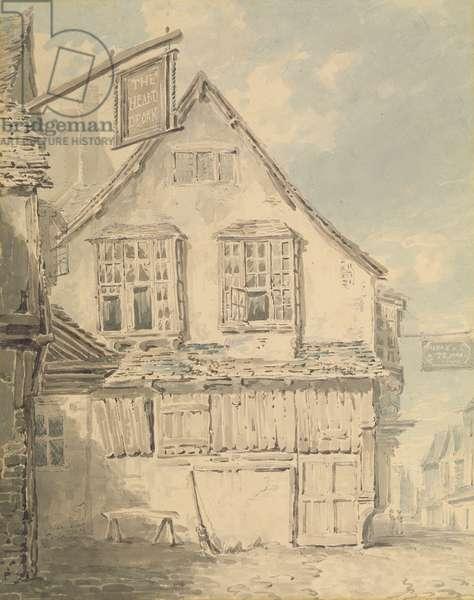 The 'Heart of the Oak' Inn, c.1794 (w/c on paper)