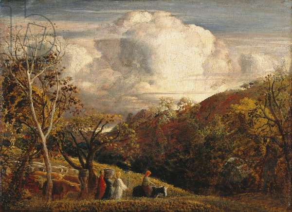 The Bright Cloud, 1833-34 (oil on panel)