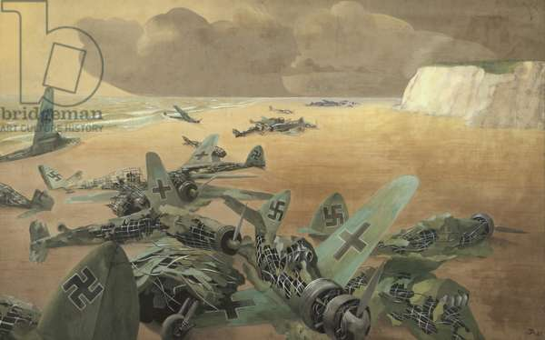 September 1940 (oil on panel)