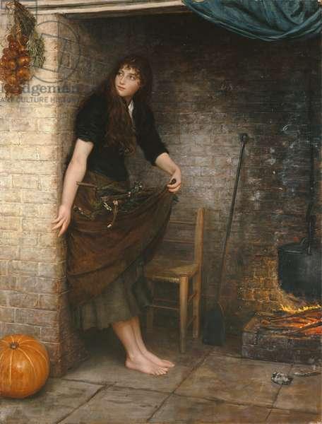 Cinderella, 1899 (oil on canvas)