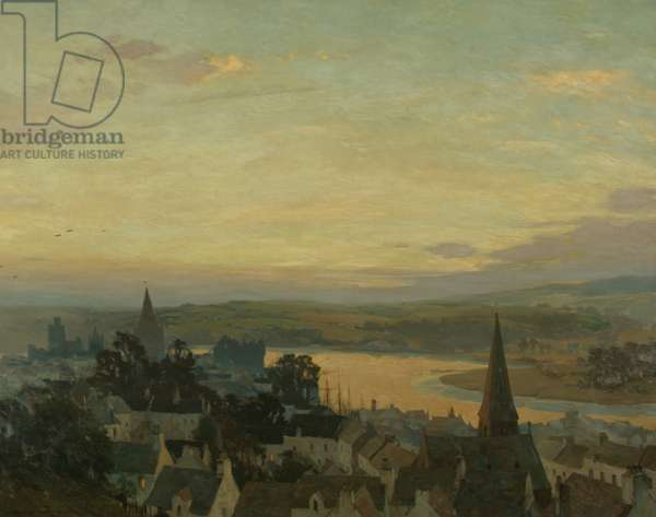 Kirkcudbright: Evening, 1914 (oil on canvas)