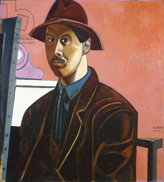 Portrait of the Artist as the Painter Raphael, 1921 (oil on canvas)
