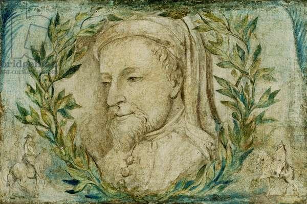 Geoffrey Chaucer, c.1800 (tempera on canvas)