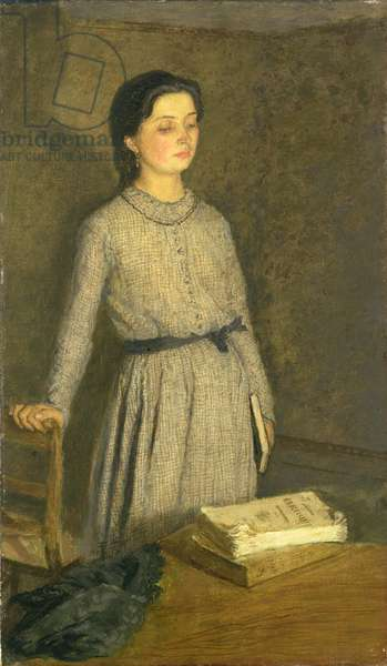 The Student, 1903 (oil on canvas)