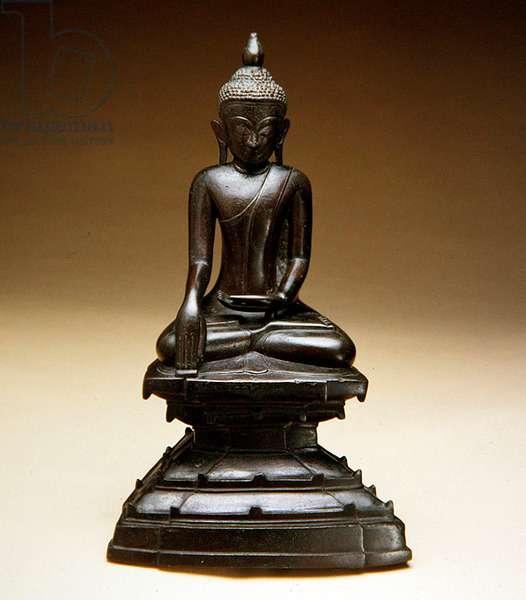 Figure of Buddha (bronze)