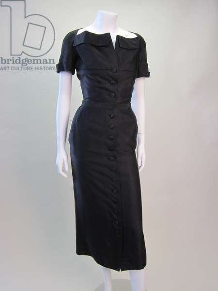 Dress, 1949 (silk-faille)