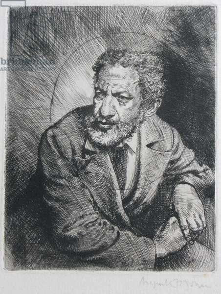 Man from Barbados, 1901-02 (etching)