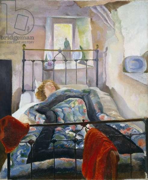 The Eiderdown, 1918-29 (oil on canvas)