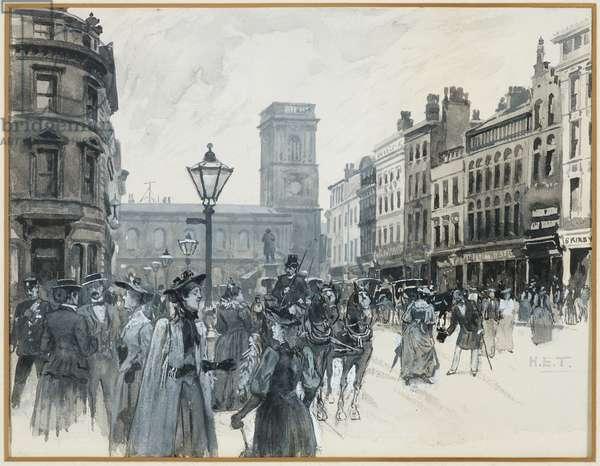 St. Ann's Square, 1893-94 (w/c gouache on paper)