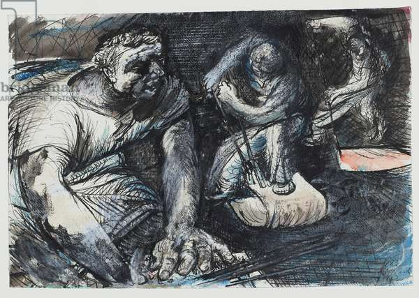 Tinplate Workers, 1942 (litho)