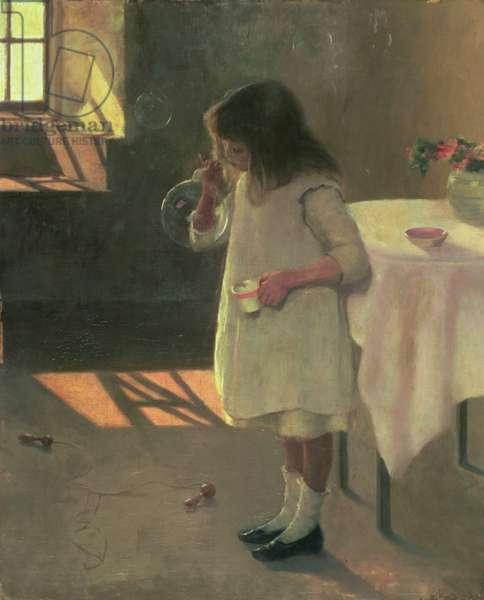 Bubbles, 1907 (oil on canvas)