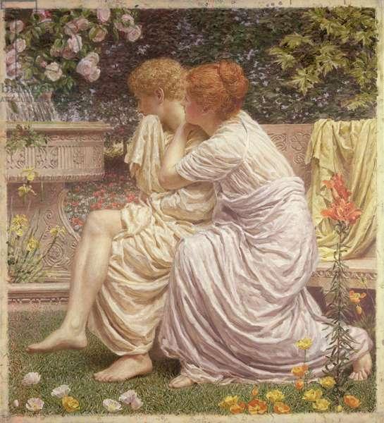 An Idyll, 1893 (oil on canvas)