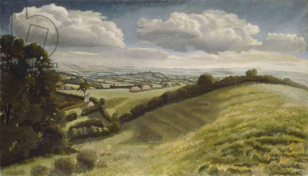 Blackmoor Vale, 1931 (oil on canvas)