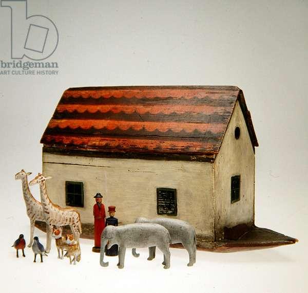 Noah's Ark (wood with leather & felt)