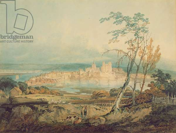 Rochester, Kent, 1795 (w/c on paper)