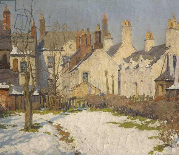 Last of the Snow, 1923-24 (oil on canvas)