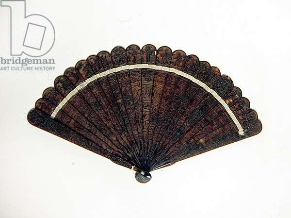 Fan, 1800-30 (tortoiseshell)
