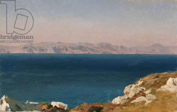 The Isle of Chios, c.1867 (oil on canvas)