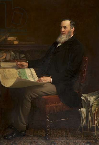 Daniel Adamson, 1900 (oil on canvas)