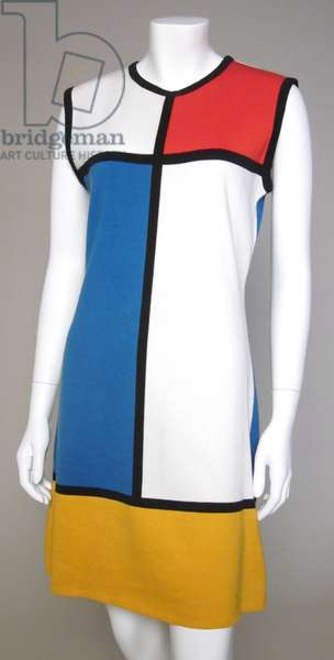 Mini Dress, 1980 (cotton & jersey)