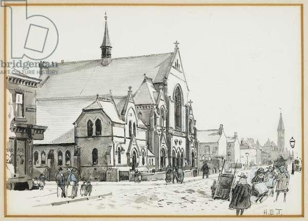 Great Western Street Primitive Methodist Chapel, 1893-94 (w/c pencil)