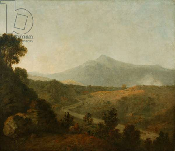 Valley of the Mawddach with Cader Idris beyond, 1770-75 (oil on canvas)