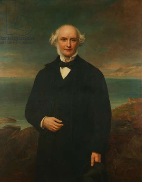 Murray Gladstone (oil on canvas)