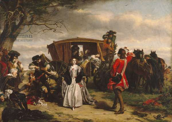 Claude Duval, illustration from 'Macaulay's History of England' (oil on canvas)